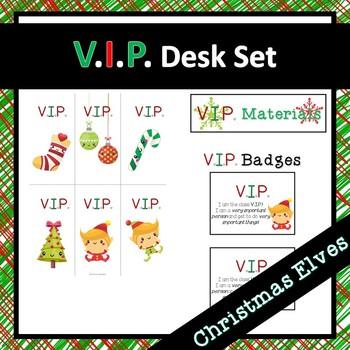 Christmas VIP Desk Set