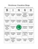 Christmas Vacation Bingo