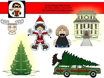 Christmas Vacation Clip Art Set Freebie