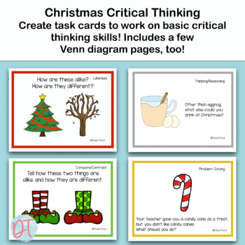 Christmas Variety Bundle- Activities for Speech/Language