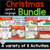 Christmas Activities & Games for Speech and Language Therapy | BUNDLE
