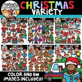 Christmas Variety Clipart Growing Bundle {Christmas Clipart}