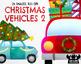 Christmas Vehicles 2 Watercolor Clipart   Instant Download Vector Art