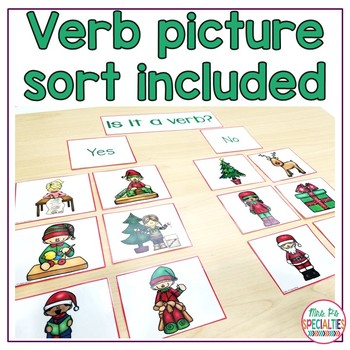 Christmas Verb Books