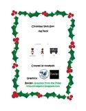 Christmas Verb Sort -ing Pack