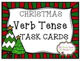 Christmas Verb Tense Task Cards