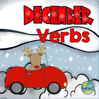 December Verbs in Preschool