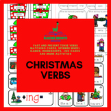 Christmas Verbs: Past & Present Tense | Speech Therapy | Regular & Irregular