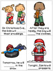 Christmas Verbs and Completing the Sentence FREEBIE