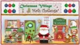 Christmas Village Math Challenge