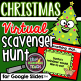 Christmas Virtual Scavenger Hunt for Distance Learning