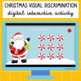 Christmas Visual Discrimination Digital Interactive Activity
