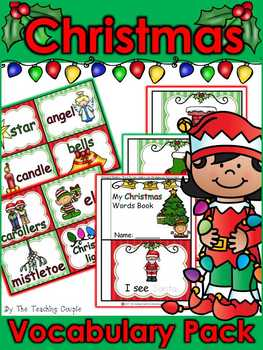 Christmas Vocabulary Activity Pack