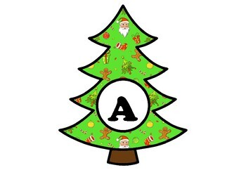 Christmas Vocabulary, Art & Classroom Display Bundle, Bulletin Board Letters Set