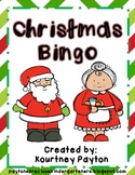 Christmas Vocabulary Bingo