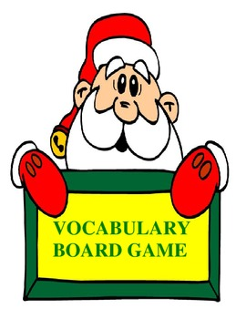 Christmas Vocabulary Board Game {Common Core Compliant}