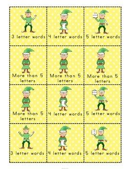 Christmas Vocabulary Building Game