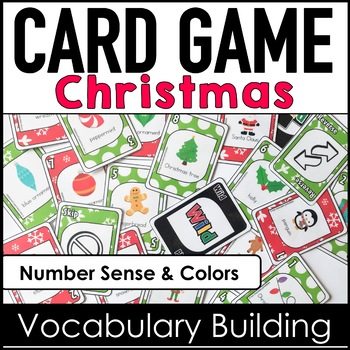 christmas vocabulary card game by hot chocolate printables tpt - Christmas Card Games