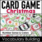 Christmas Vocabulary Card Game - English Version