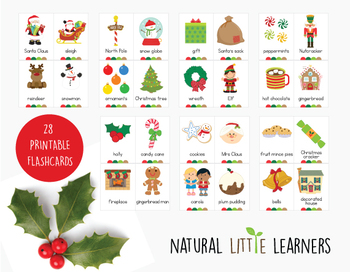 Christmas Flash Cards