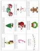 Christmas Vocabulary Cards - Great for ESL/ENL
