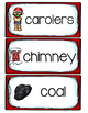 Christmas Vocabulary Cards/Word Wall
