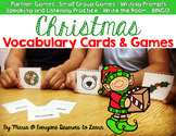 Christmas Vocabulary Cards and Games