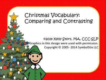 Christmas Vocabulary: Compare and Contrast