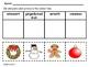 Christmas Vocabulary Cut & Paste Activities