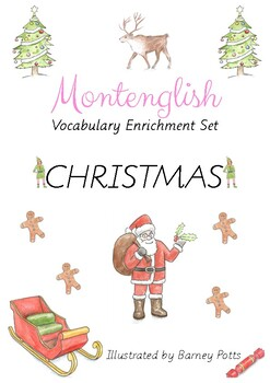 Christmas Montessori three part cards & MORE!
