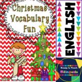 Christmas Word Work! Classification of Christmas Words