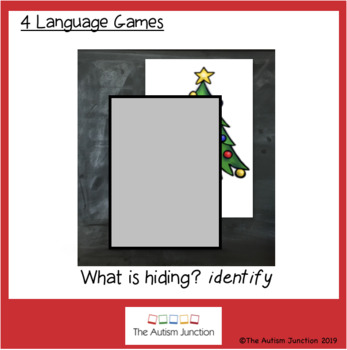 Christmas Vocabulary LESSON and ACTIVITIES