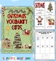Christmas Vocabulary Mega Pack Bundle Center Activities 100 pages