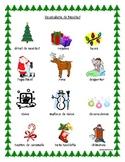 Christmas Vocabulary Spanish