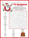 Christmas Word Search Puzzle Pack