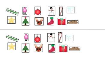 Navidad-Christmas Vocabulary and Flap Book Beginning Spanish