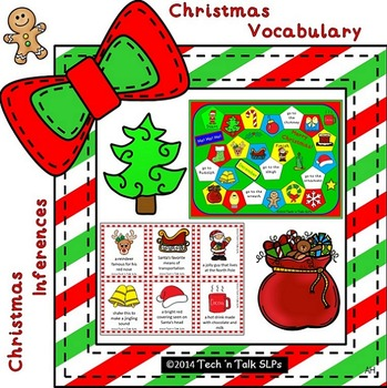 Christmas Vocabulary and Inferences