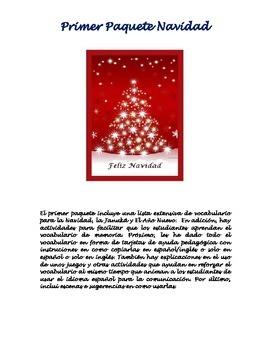 Primer Paquete Vocabulario Navidad