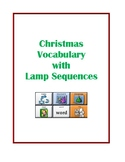 Christmas Vocabulary with LAMP Sequences - WFL - AAC Device
