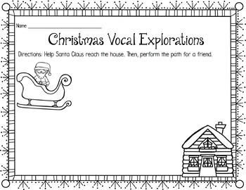 Christmas Vocal Exploration Pathways
