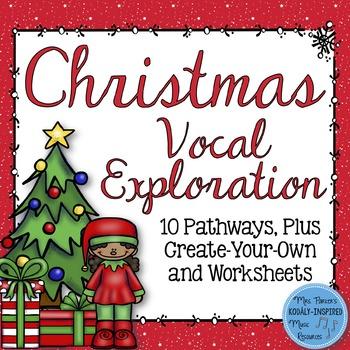 Christmas Vocal Exploration Pathways