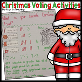 Christmas Voting Activities