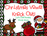 Christmas Vowel Knock Out