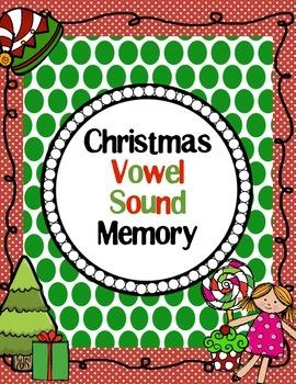 Christmas Vowel Sound Memory