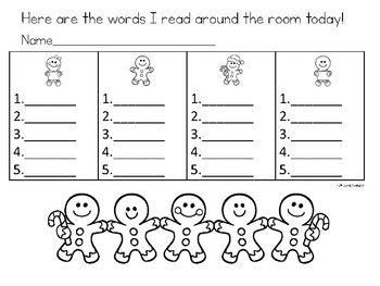 Winter Phonics Activity for Vowel Teams