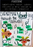 Christmas Vowels Activity