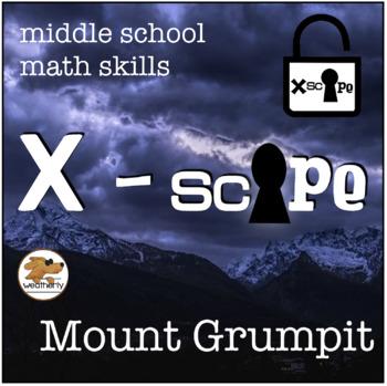 Christmas, Holiday theme - ESCAPE Mt GRUMPIT