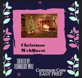 Christmas Web Quest