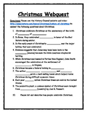 Christmas Webquest