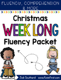 Christmas Week Long Fluency Packet